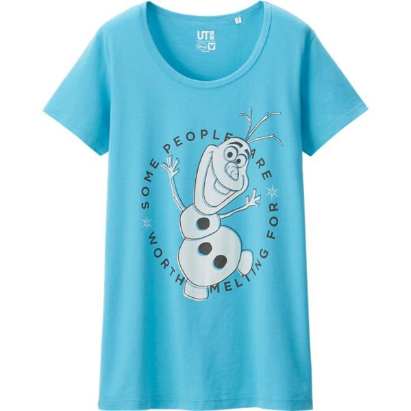 UNIQLO - WOMEN Disney Project SHORT SLEEVE GRAPHIC T-SHIRT