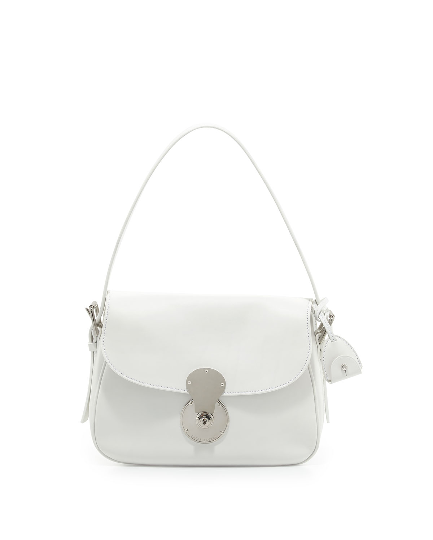 027192c95d7 Ralph Lauren Ricky Medium Cartridge Bag, White